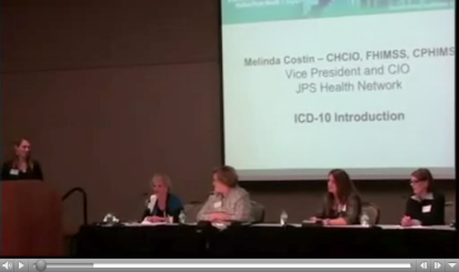 DFW HIMSS:  ICD-10 Education Event 11/01/13